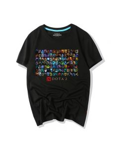 Dota 2 All Hero Tee Shirt