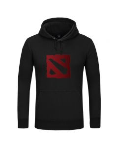 DOTA 2 Logo Printed Hooded Hoodies & Sweatshirt