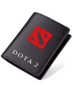 Dota 2 Logo PU Leather Wallet