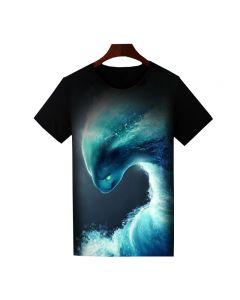 Dota 2 Morphling Printed T-Shirt Short Sleeve Shirt