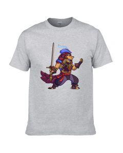 Dota 2 Pangolier Printed T-Shirt Short Sleeve Shirt