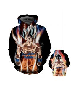Dragon Ball Z Super Saiyan Black Hoodie