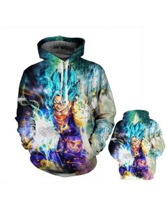 Dragon Ball Z Super Saiyan Fashion Hoodie