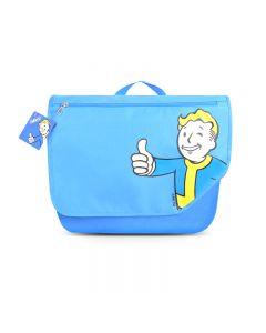 Fallout Vault Boy Blue Messenger Bag Shoulder Bag