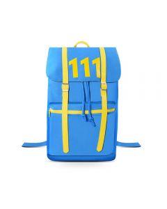 Fallout Vault No.111 Blue Backpack School Bag