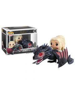 Funko Pop Vinyl Doll Game of Throne Danirys Dragon set