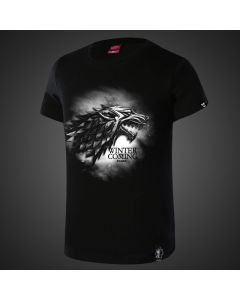 Game of Thrones Winter is Coming Black Tee Shirt