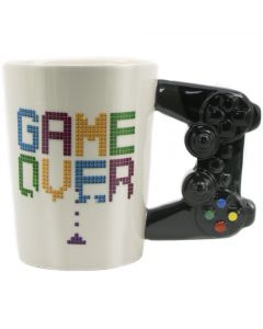 Game Over Coffee Mug 3D Game Controller Handle Ceramic Cup
