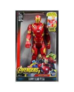 Iron Man Action Figure Model With LED Light And Sound