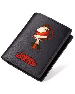 League of Legend Yasuo PU Leather Bifold Wallet