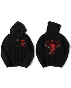 Marvel Deadpool Wade Wilson Hoodie Sweatshirt