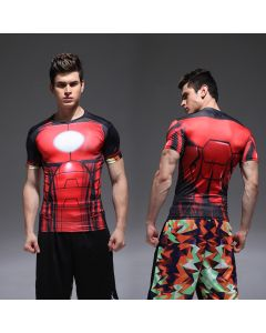 Marvel Iron Man Fitness T-Shirt - Men's