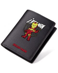 Marvel Iron Man PU Leather Bifold Wallet
