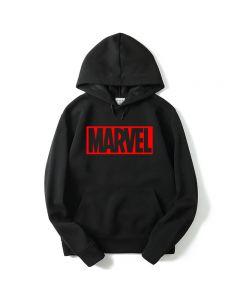 Marvel Printed Pullover Hoodie Sweatshirt