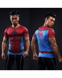 Mens Batman Fitness Compression Shirt