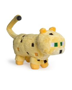 Minecraft Yellow Ocelot Stuffed Toys Soft Plush