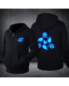Naruto Logo Luminous Hoodie Sweatshirt