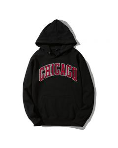 NBA Chicago Printed Pullover Hoodie
