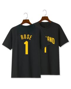 NBA Derrick Rose Number 1 Tee Shirt