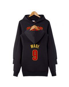 NBA Dwyane Wade #9 Pullover Hoodie