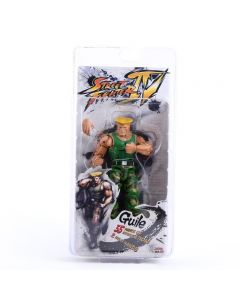NECA Player Select Street Fighter IV Guile  Action Figure