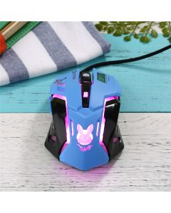 Overwatch D.va Wired Gaming Mouse