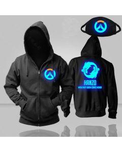 Overwatch Hanzo Luminous Pullover Hoodie