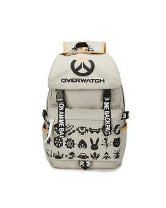 Overwatch Pattern Printed Backpack Rucksack School Bag
