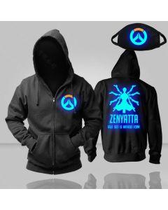 Overwatch Zenyatta Luminous Pullover Hoodie