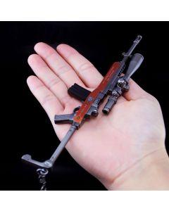 PUBG aka Ruger Mini-14 Action Figure Keychain