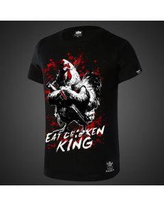 PUBG PlayerUnknown's Battlegrounds Eat Chicken King T-shirt