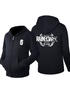 Rainbow Six Siege Zipper Pullover Hoodie