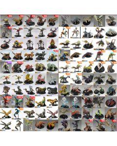 Random 5 Different Style Monster Hunter Action Figure Model