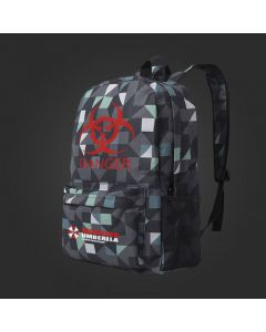 Resident Evil Danger Warning Umbrella Backpack