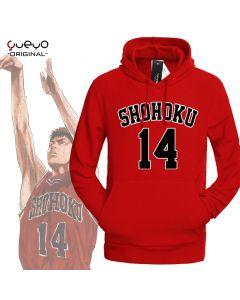 Slam Dunk Mitsui Hisashi Number 14  Hoodie Sweatshirt
