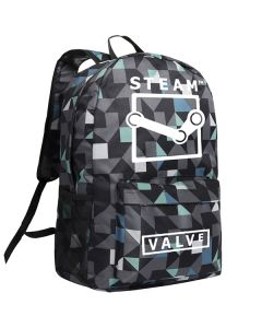 Steam Value Oxford Backpack School Bag