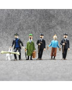 The Adventures of Tintin PVC Action Figures