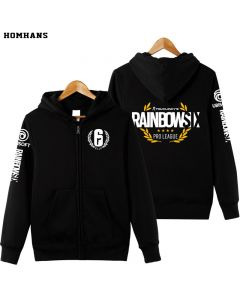Tom Clancy's Rainbow Six Siege Full-zip Hoodie Pullover Sweatshirt