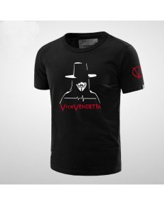 V for Vendetta Short Sleeve T-Shirt