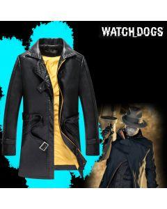 Watch Dogs Aiden Pearce Leather Windbreak