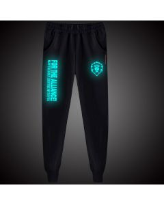 World of Warcraft For The Alliance Luminous Sweatpants