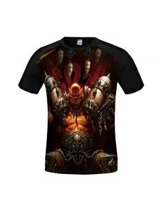 World of Warcraft Grom·Hellscream 3D Printed T-Shirt