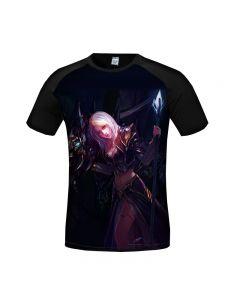 World of Warcraft Jaina Proudmoore 3D Printed T-Shirt