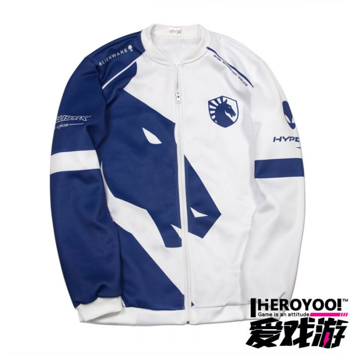 Dota 2 Team Liquid Jacket Full zip Outwear