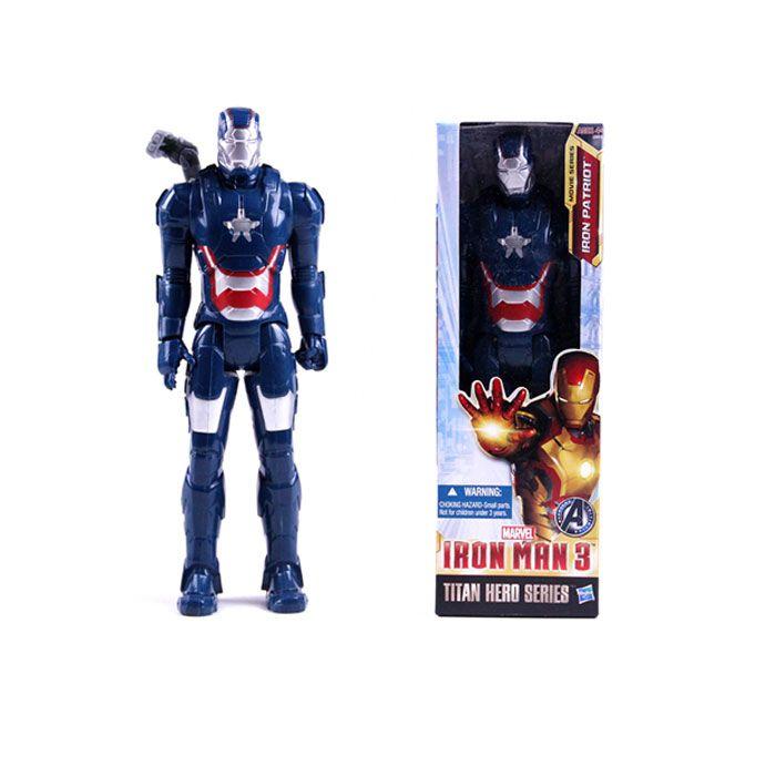 "30cm Marvel Avengers Iron Man Patriot 12/"" Super Hero Action Figure Toy Model New"