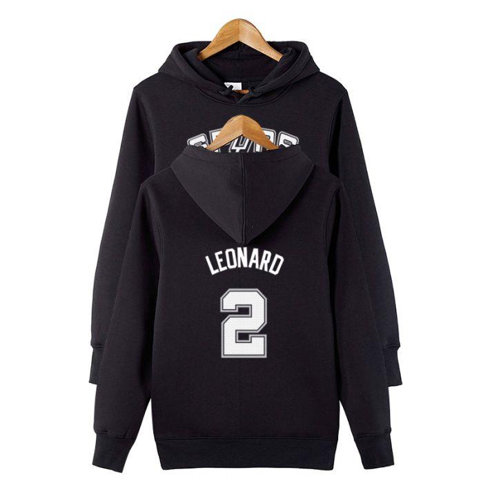 best service c1315 ae2c2 NBA Kawhi Leonard #2 Pullover Hoodie