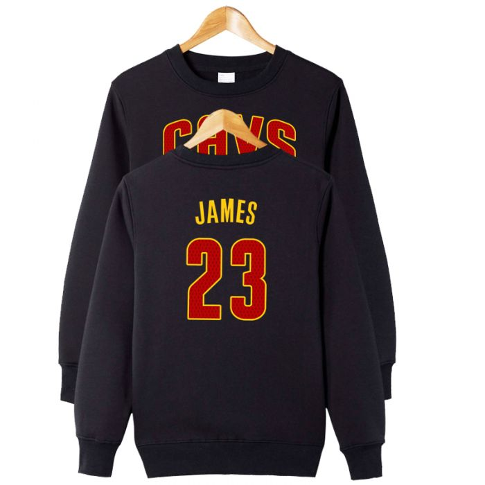 buy popular f3ac8 0d72e NBA LeBron James Number 23 Sweatshirt