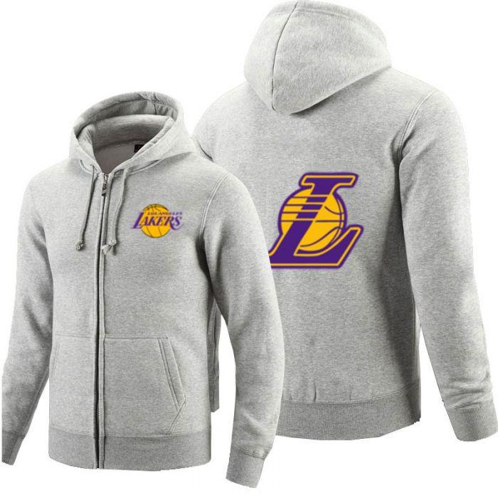 Nba Los Angeles Lakers Full Zip Hoodie Hooded Sweatshirt Dota 2 Store