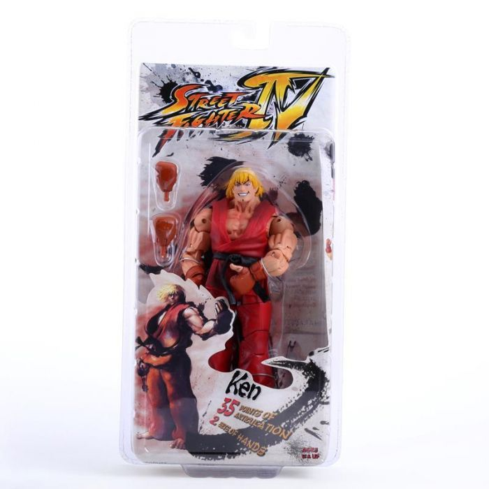 Neca Player Select Street Fighter Iv Ken Action Figure Dota 2 Store