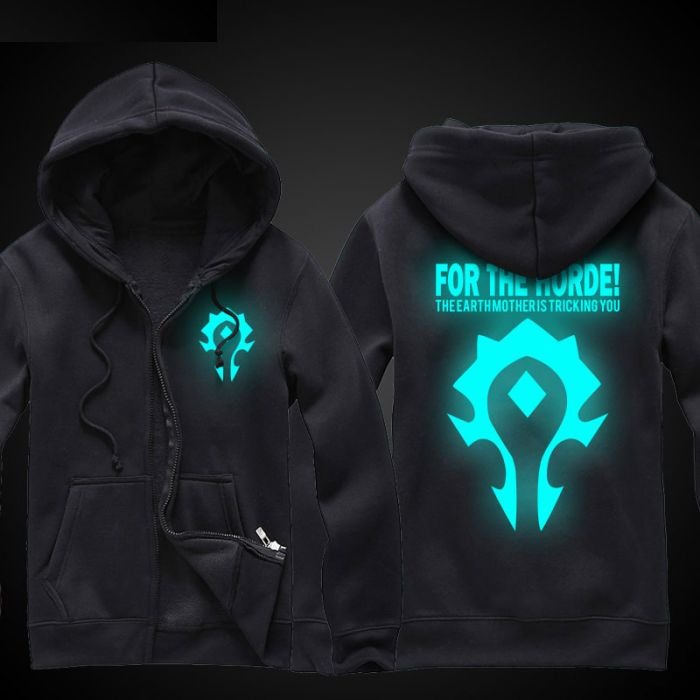 World of Warcraft For The Horde Luminous Hoodie